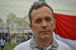 Fabian Ferraro de la fondation du développement par le football (FUDE)