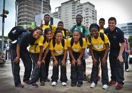 L'équipe sud-africaine est composée de jeunes entre 15 et 18 ans