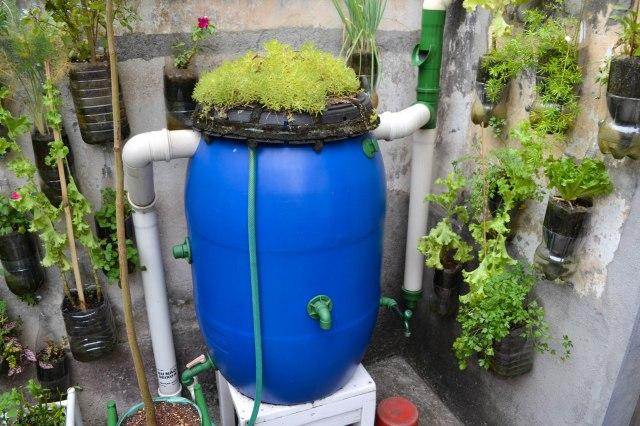 Une citerne peut répondre à 50% des besoins en eau d'une maison